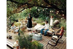 Как сделать патио на даче, виды, мебель и декорирование